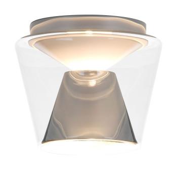 Serien Lighting Annex Ceiling M LED, 27W, 2700K, dimmbar DALI, Schirm klar, Reflektor Aluminium poliert