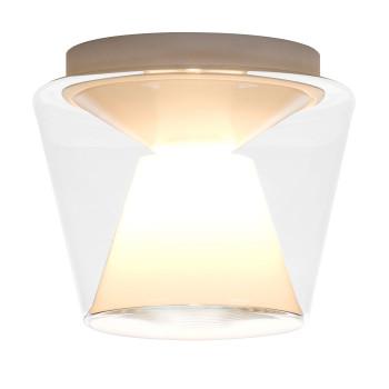 Serien Lighting Annex Ceiling M LED, 27W, 3000K, dimmbar DALI, Schirm klar, Reflektor opal