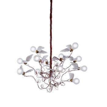 Ingo Maurer Birdie LED, Kabel rot