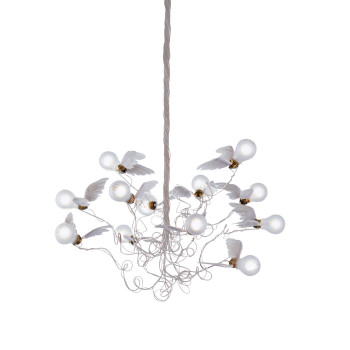 Ingo Maurer Birdie LED, Kabel transparent