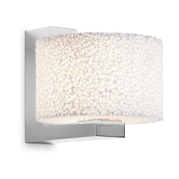 Serien Lighting Reef Wall LED, Aluminium gebürstet