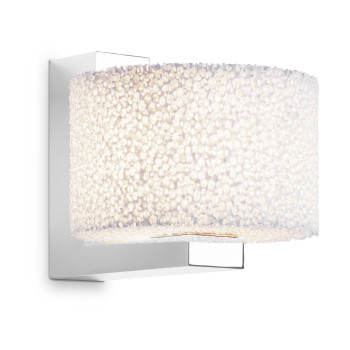 Serien Lighting Reef Wall LED, Aluminium poliert