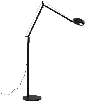 Artemide Demetra Professional Lettura LED, schwarz matt, mit Anwesenheitssensor