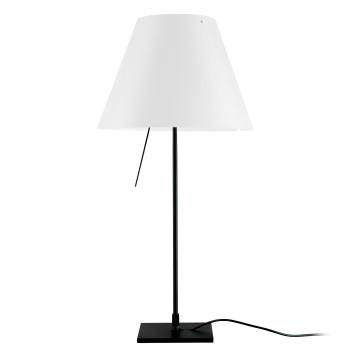 Luceplan Costanzina Tavolo schwarz, weiß