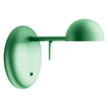 Vibia Pin 1675 Wandleuchte, Lack grün matt