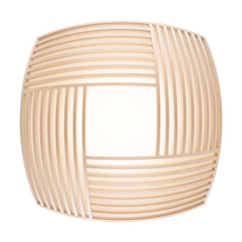 Secto Kuulto 9100 Wall/Ceiling Light, natural birch