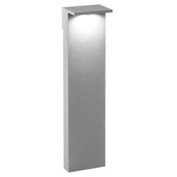 Delta Light Oblix 70 Pollerleuchte, aluminium grau