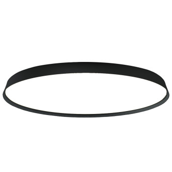 Luceplan Compendium Plate Parete/Soffitto LED, schwarz