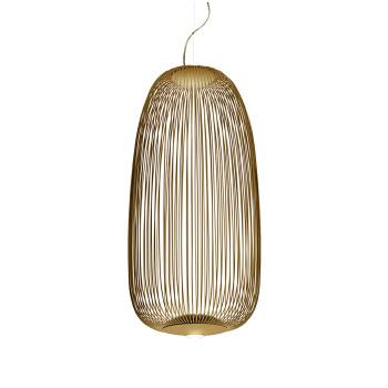 Foscarini Spokes 1 Sospensione My Light LED, gold