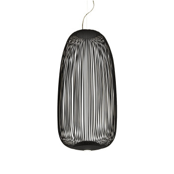 Foscarini Spokes 1 Sospensione MyLight, schwarz, mit Kabelsonderlänge max. 10 m
