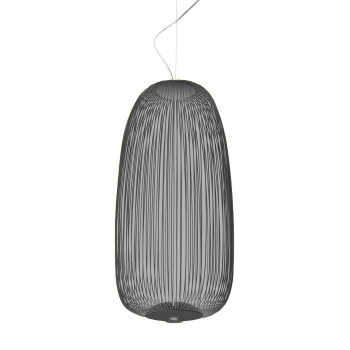 Foscarini Spokes 1 Sospensione My Light LED, graphitgrau
