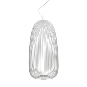 Foscarini Spokes 1 Sospensione My Light LED, weiß, mit Kabelsonderlänge max. 10 m