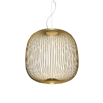 Foscarini Spokes 2 Sospensione My Light LED, gold