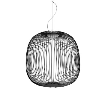 Foscarini Spokes 2 Sospensione My Light LED, schwarz