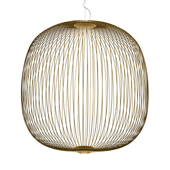 Foscarini Spokes 2 Large Sospensione My Light LED, gold