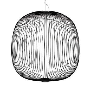 Foscarini Spokes 2 Large Sospensione My Light LED, schwarz