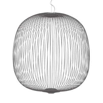 Foscarini Spokes 2 Large Sospensione My Light LED, graphitgrau