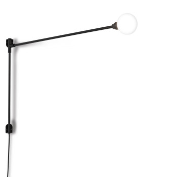 Nemo Potence Pivotante Mini Wall Light, black