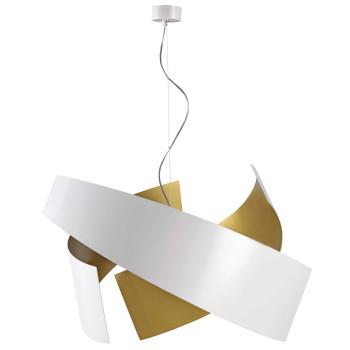 Marchetti Ella S65, blanc / peint en doré