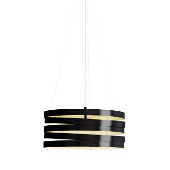 Marchetti Band S50 LED, schwarz / Blattgold