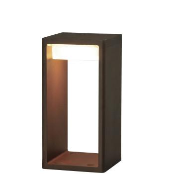 B.Lux Frame S LED, Cortenstahloptik (rostbraun)