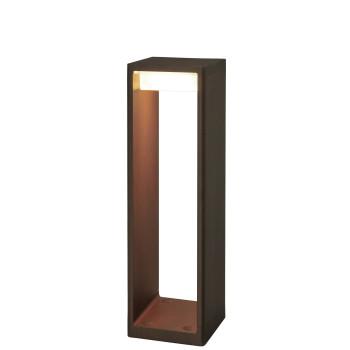 B.Lux Frame M LED, Cortenstahloptik (rostbraun)