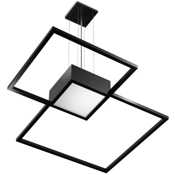 Wever & Ducré Venn 3.0 Pendelleuchte, 3000K, schwarz