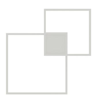 Wever & Ducré Venn 1.0 Applique, 3000K, blanc