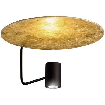 Holtkötter Disc 2402-2, noir / réflecteur feuille d'or