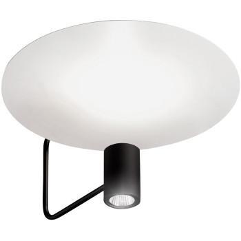 Holtkötter Disc 2402-2, noir / réflecteur blanc