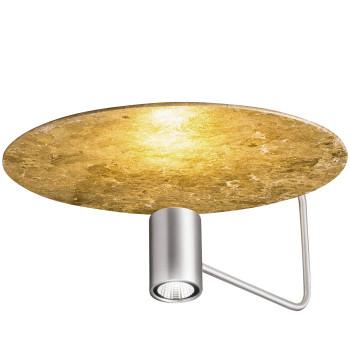 Holtkötter Disc 2402-2, aluminium mat / réflecteur feuille d'or
