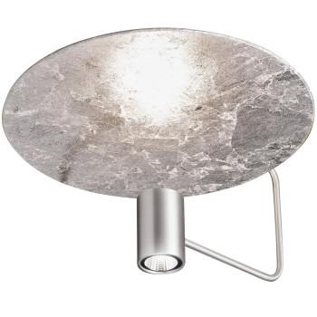 Holtkötter Disc 2402-2, aluminium mat / réflecteur feuille d'argent