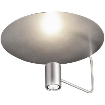 Holtkötter Disc 2402-2, aluminium mat / réflecteur argenté