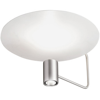Holtkötter Disc 2402-2, aluminium mat / réflecteur blanc