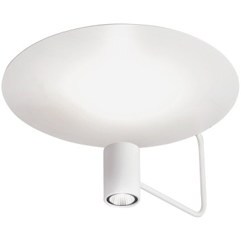Holtkötter Disc 2402-2, blanc / réflecteur blanc