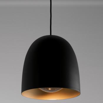 B.Lux Speers S1, Schirm schwarz / Messing, dimmbar mit Phasenabschnittsdimmer