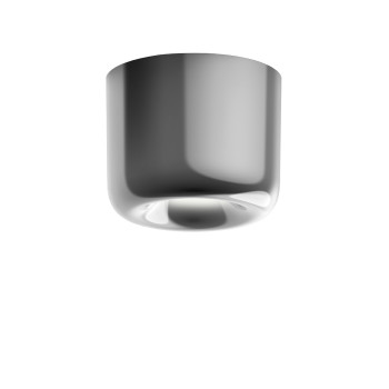 Serien Lighting Cavity Ceiling L, Aluminium glänzend, 2700K