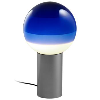 Marset Dipping Light M, graphitgrau / blau