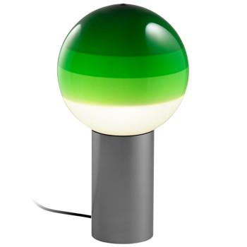 Marset Dipping Light M, graphitgrau / grün