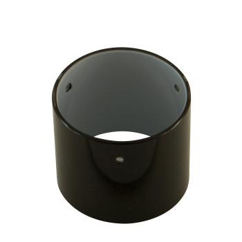 LDM Mono Strahler Wechselglas Ersatzglas, schwarz glänzend