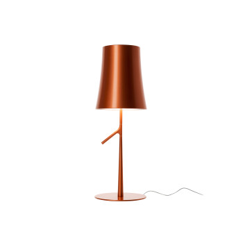 Foscarini Birdie Piccola Tavolo LED, kupferfarben