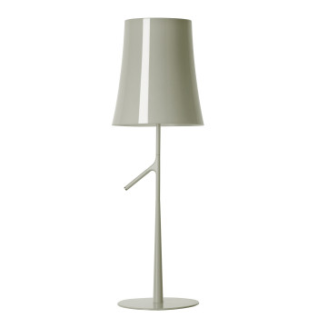 Foscarini Birdie Piccola Tavolo LED, grau