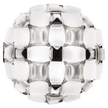Slamp Mida Ceiling/Wall Medium, weiß / platin