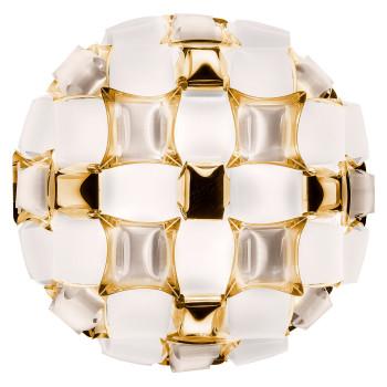 Slamp Mida Ceiling/Wall Medium, weiß / Gold