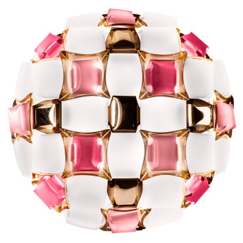 Slamp Mida Ceiling/Wall Medium, rosa