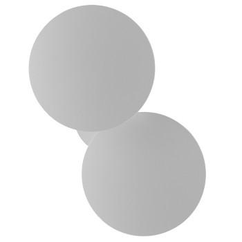 Studio Italia Design Puzzle Outdoor Double Round, matt weiß