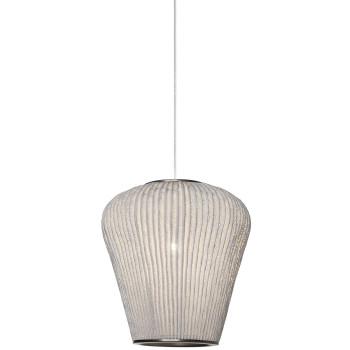 Arturo Alvarez Coral Cay COCY04-LD Pendelleuchte, weiß, mit transparentem Kabel