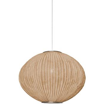 Arturo Alvarez Coral Seaurchin COAU04-LD 44 Pendelleuchte, beige, mit transparentem Kabel