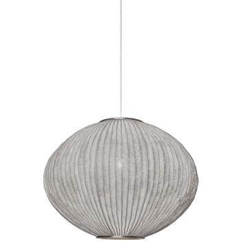 Arturo Alvarez Coral Seaurchin COAU04-LD 44 Pendelleuchte, grau, mit transparentem Kabel