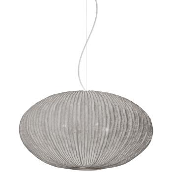 Arturo Alvarez Coral Seaurchin COAU04 70 Pendelleuchte, grau, mit transparentem Kabel